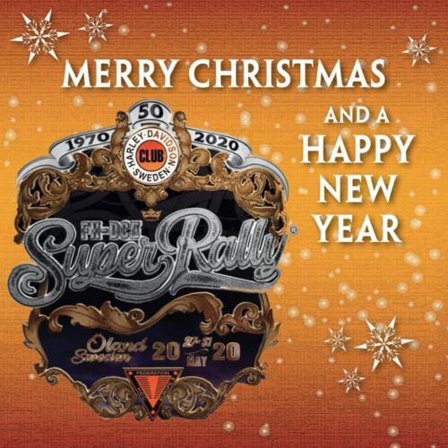 Harley-Davidson Club Sweden Christmas card 2019-1
